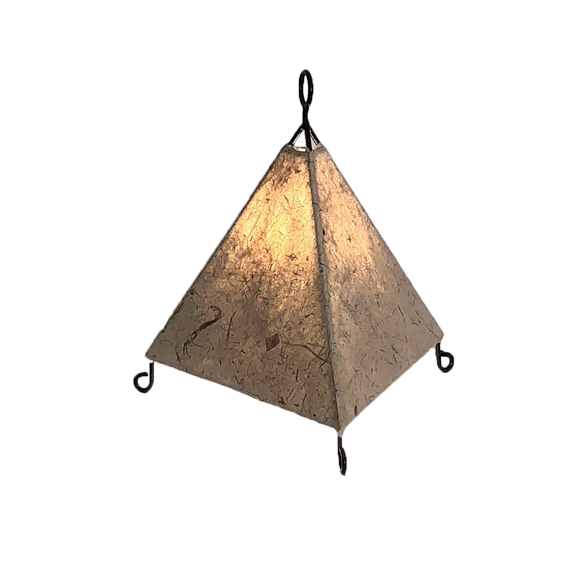 Mini Pyramid Lamp